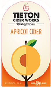 TCW-001 Bottle_APRICOT CIDER_F